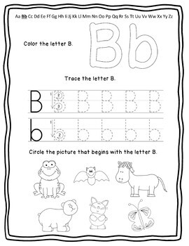 My Alphabet Book! - Practice with letter sounds and penmanship