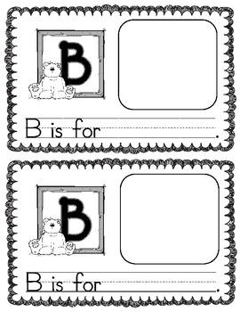My Alphabet Book- Pre-k or K