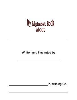 My Alphabet Book Template