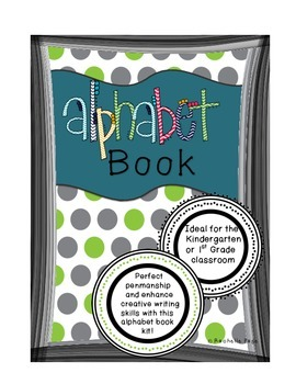 Alphabet Book - The Not So Boring Alphabet Book For Kids