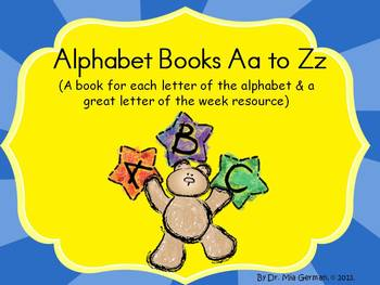 Alphabet Books (a book for each letter & a great letter of the week resource)