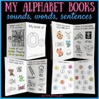 #betterthanchocolate My Alphabet Books: Recognition, Sounds, Words and Sentences