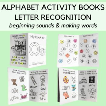 My Alphabet Books: Recognition, Sounds, Words and Sentences