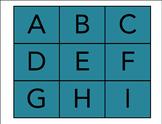 My Alphabet Cards