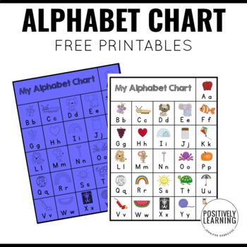 My Alphabet Chart Freebie