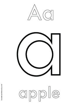 Alphabet Craft Book FREE (Lowercase Letters a, b, and c)