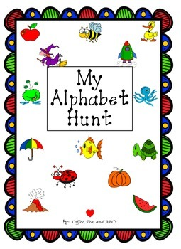 My Alphabet Hunt