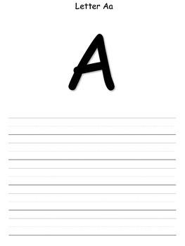My Alphabet Journal
