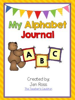My Alphabet Journal {Draw and Write}
