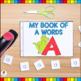 My Alphabet Letter Books Bundle (Cut and Paste Alphabet Letter Booklets)