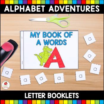 My Alphabet Letter Books Bundle (Cut and Paste Alphabet Le