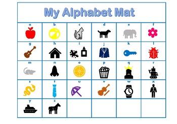 My Alphabet Mat