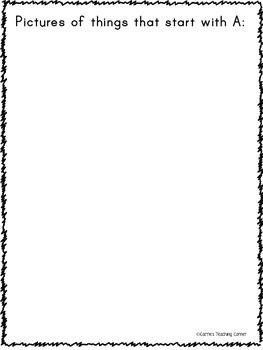 My Alphabet Book - Penmanship