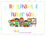 My Alphabet & Number Book