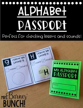 My Alphabet Passport