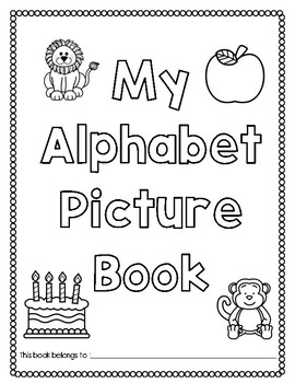 My Alphabet Picture Book