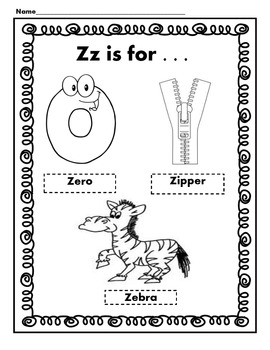 My Alphabet Poem Book