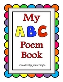My Alphabet Poem Book