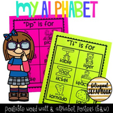 My Alphabet (Portable Word Wall/Posters)