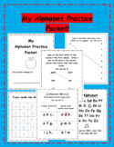 My Alphabet Practice Packet