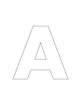 My Alphabet Scissor Work Book