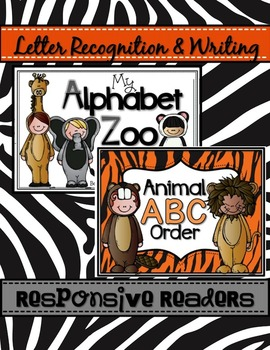 My Alphabet Zoo and Animal ABC Order Responsive Readers &