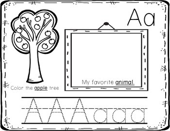 My Alphabet...A Book About Me (and the abc's)!