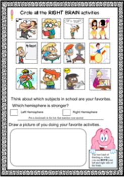 Brain Science Activities (Anatomy) Human Body: Connect to Growth Mindset