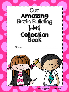 My Amazing Brain Building Word Collection Book
