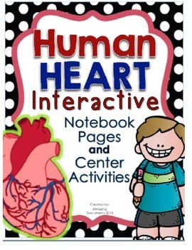 My Amazing Healthy Heart - Interactive Notebook Pages