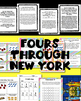 Math Amazing Race Across New York- 4s Multiplication Fact & Word Problems
