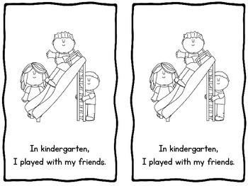 My Amazing Year in Kindergarten Emergent Reader