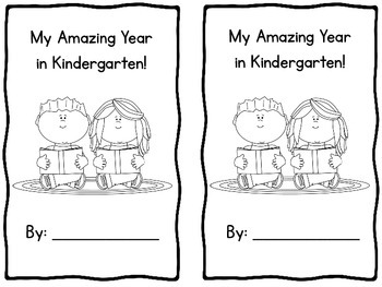 My Amazing Year in Kindergarten Emergent Reader