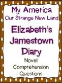 My America Our Strange New Land: Elizabeth's Jamestown Diary