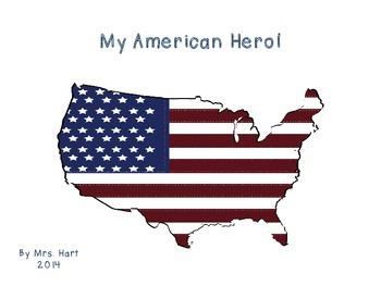 My American Hero - a writing CRAFTivity