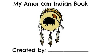 My American Indian Book