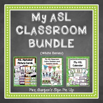 My American Sign Language Classroom (white series)