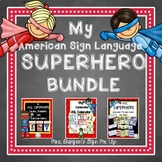My American Sign Language Superhero BUNDLE