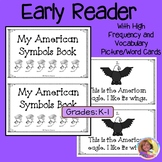 American Symbols Beginning Reader with Word Cards