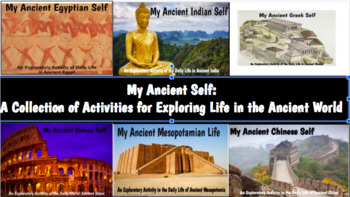 My Ancient Self Bundle: Activities to Explore Life One's Self in Ancient Times