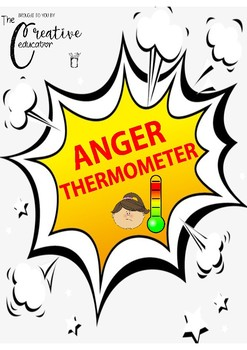 My Anger Thermometer *Anger management *Emotional regulation