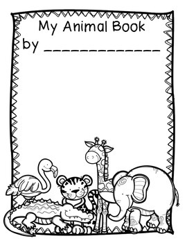 Animal Research Report Packet