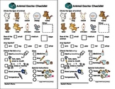 My Animal Doctor Checklist - Play/Pretend (Veterinarian/Doctor)