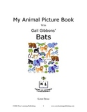 My Animal Picture Book with Gail Gibbons' Bats