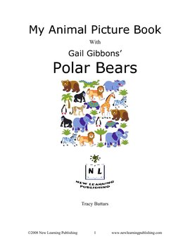 My Animal Picture Book with Gail Gibbons' Polar Bears