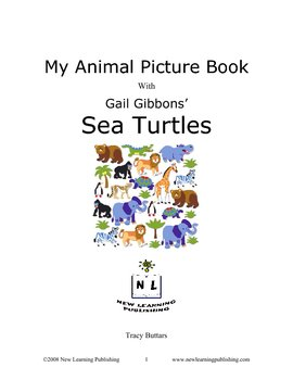 My Animal Picture Book with Gail Gibbons' Sea Turtles