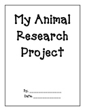 My Animal Research Project