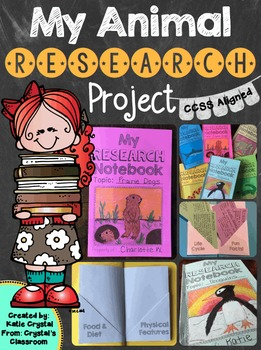 """My Animal Research Project,"" A CCSS Aligned Informative Writing Unit"
