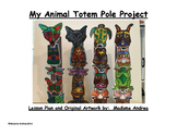 My Animal Totem Pole Project
