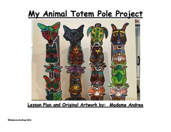 My Animal Totem Pole Project